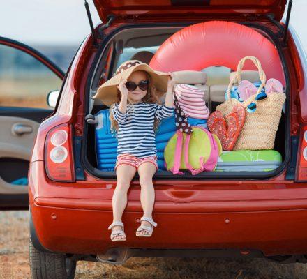 départ en vacances voiture